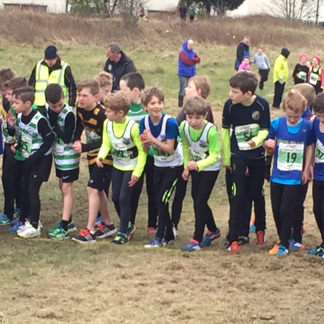 Start line of Boy's race.