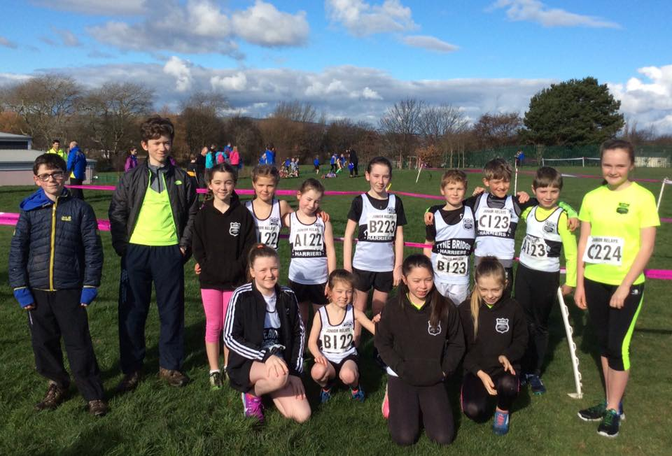 TBH Juniors @ Birtley XC Relays