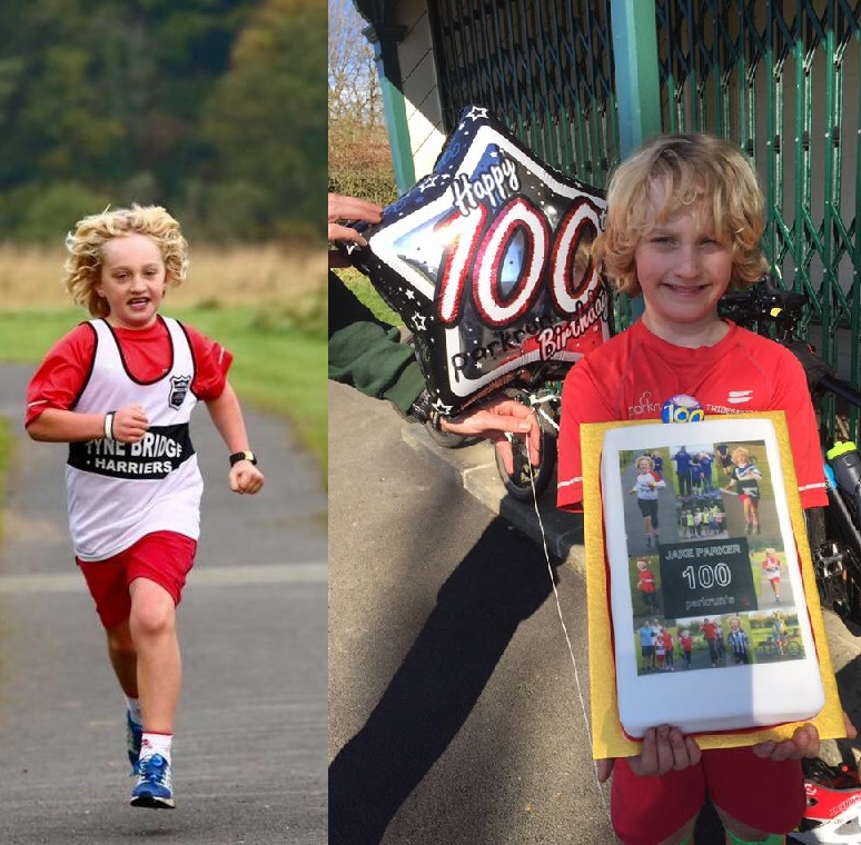 100 parkruns and a big cake!
