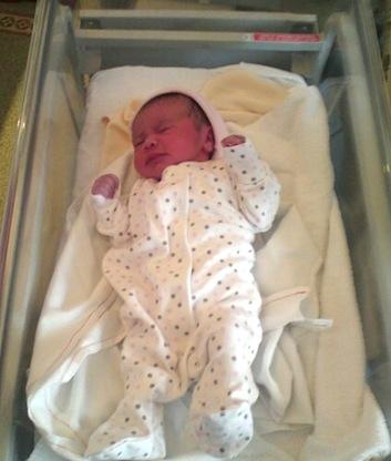 Congratulations NEW Baby Girl For Samantha Marc Tyne Bridge