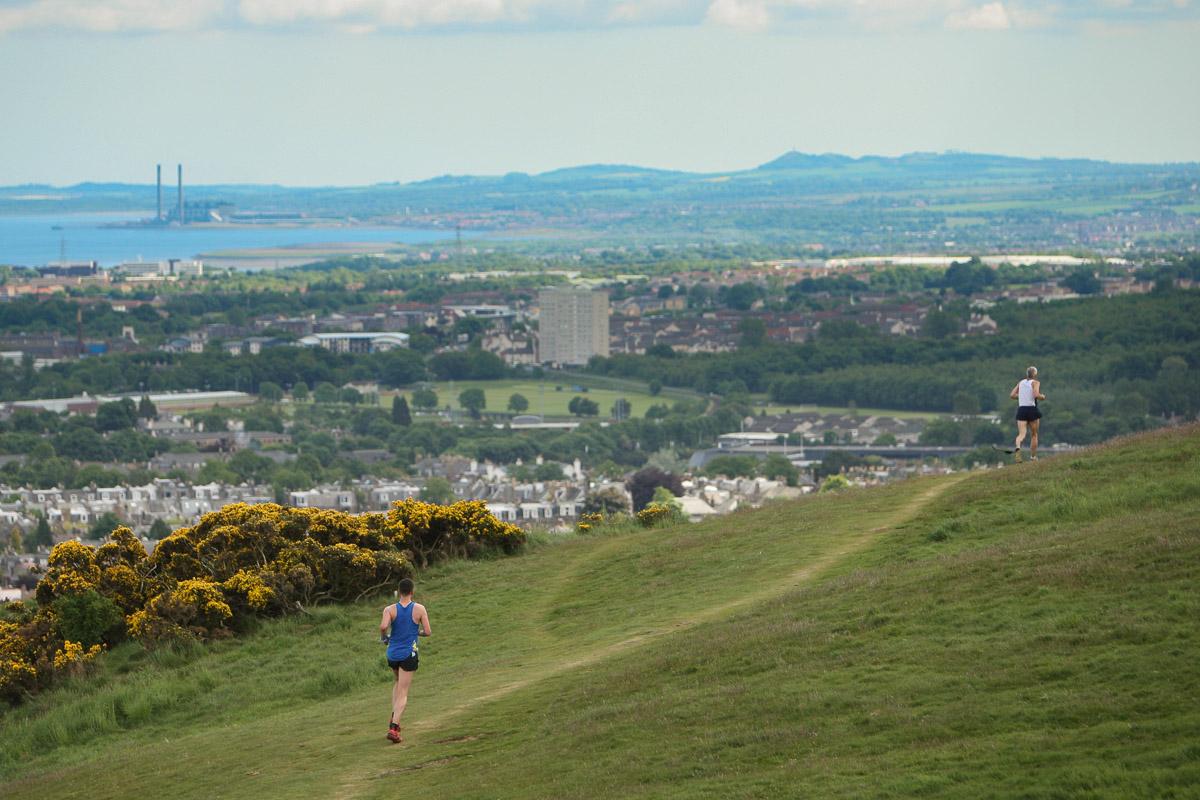 View from Blackford Hill (www.EdinburghSports.co.uk)