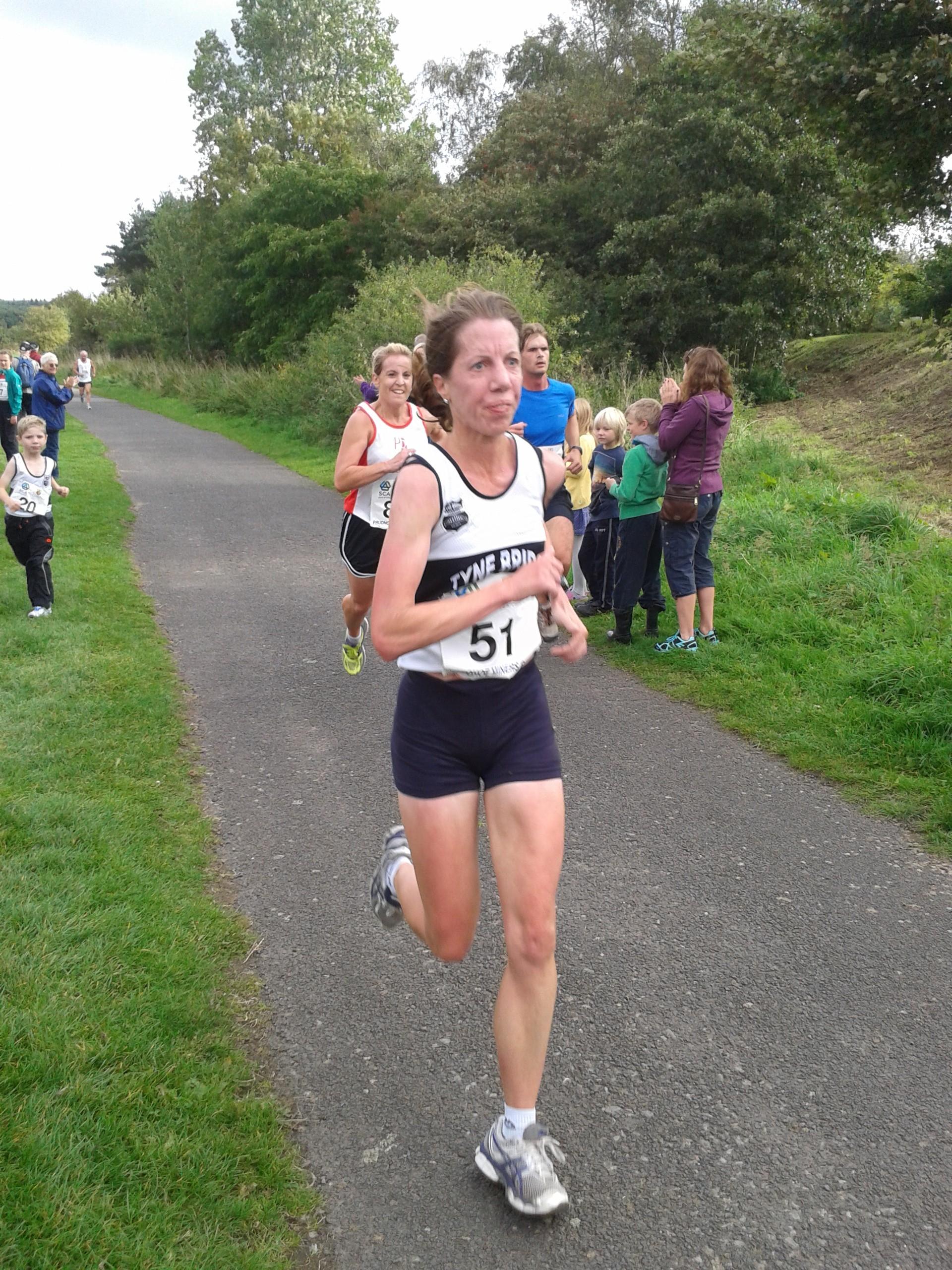 Emma Moir in action.