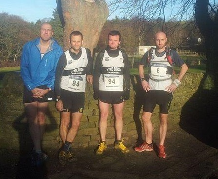 (l-r)Alan Wallace, Jonathan Powell, Colin Dilks and David Beech (John Tollitt taking photograph)