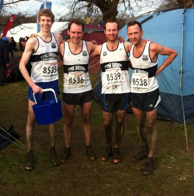 (l-r)James, Chris, John and Alan
