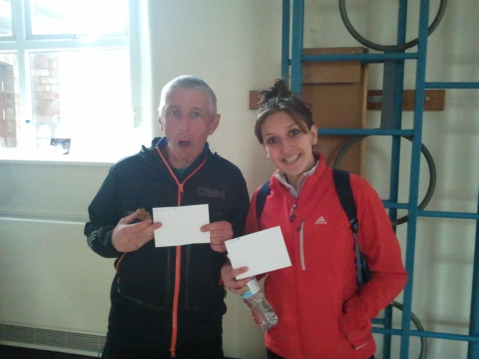 Prize winners, John & Sophie