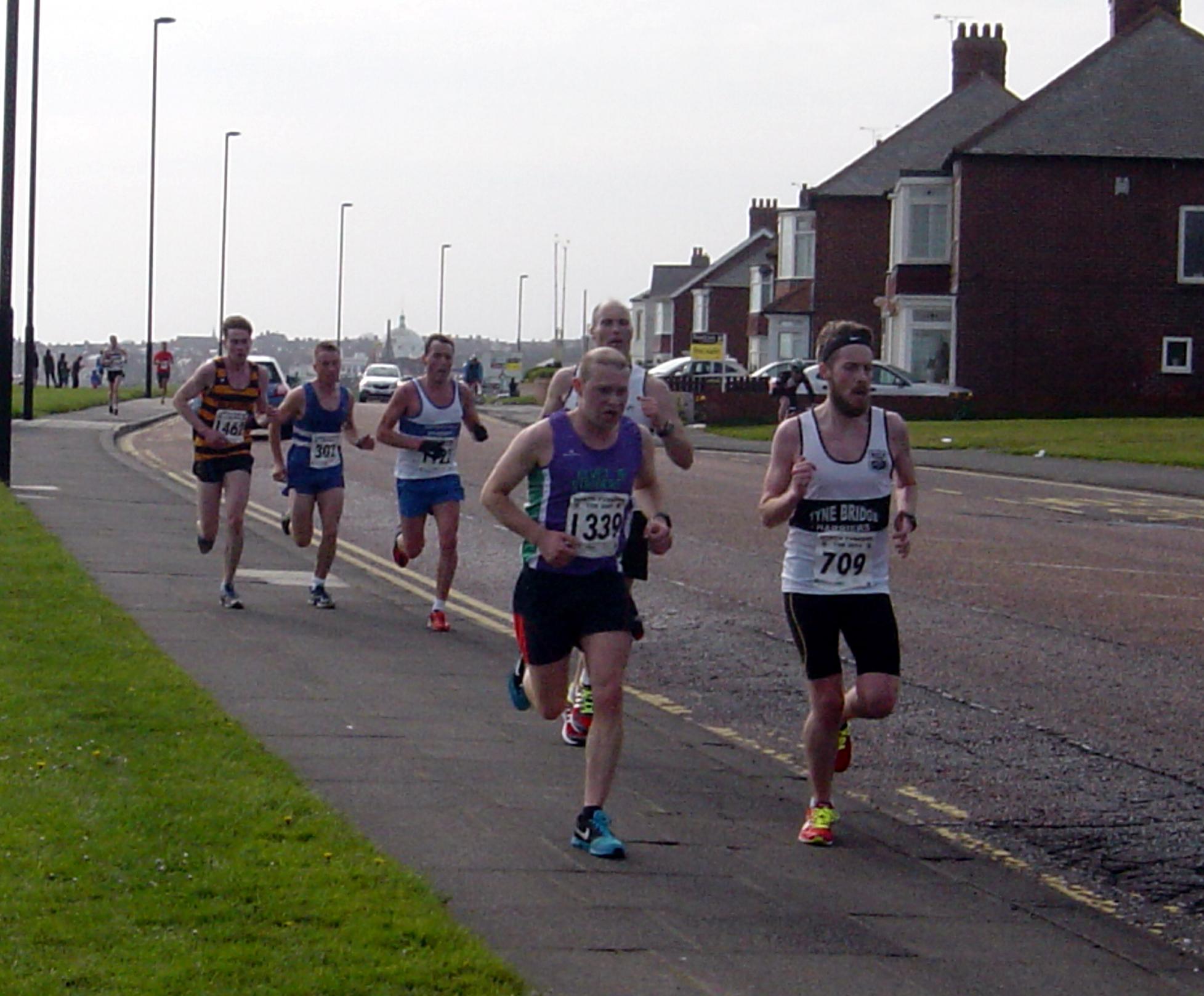 David Johnson & Chris Meek (behind Elvet runner)