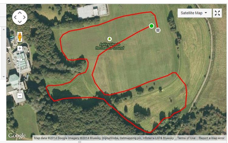 Under 11's course (0.9 mile)
