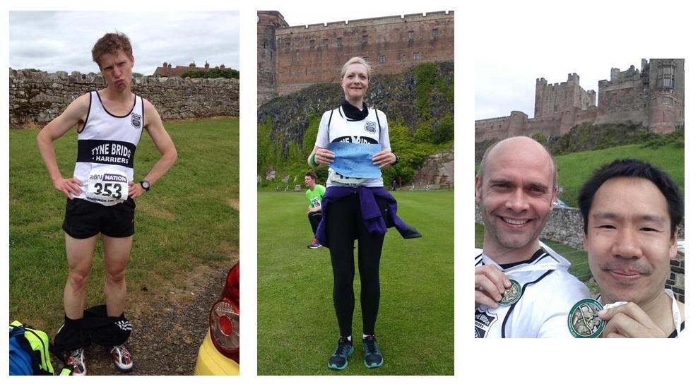 (l-r) Simon and his short shorts; Karen Walker; Chris & Edwin
