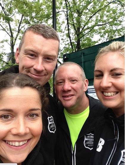 (l-r) Gemma, Shaun, Ian & Nicola