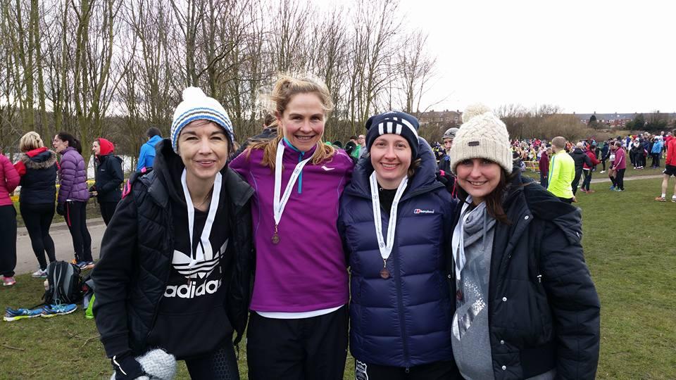 (l-r) Louise, Alison, Jacqueline & Kathryn