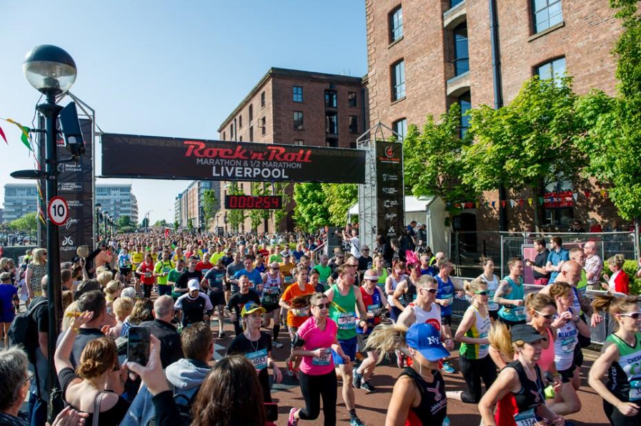 Start of Half-Marathon