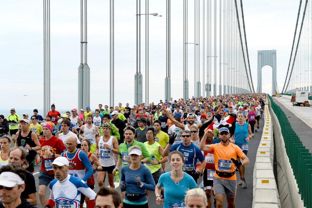Marathon 1st mile